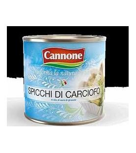 CARCIOFI SPICCHI OLIO LATTA...