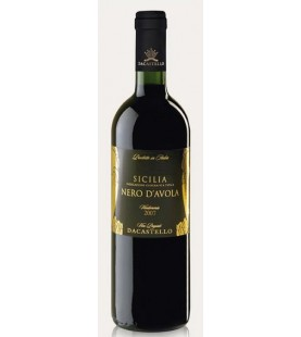 NERO D'AVOLA ML 750 DACASTELLO