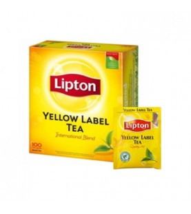 THE' Y LABEL FT100 LIPTON