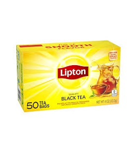 TE NERO Y LABEL PZ50 LIPTON